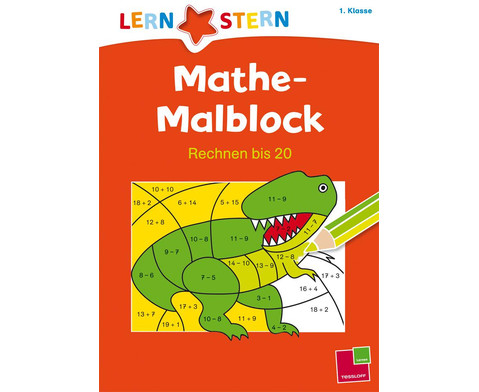 Lernstern - Mathe Malblock Rechnen bis 20