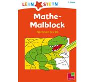 Lernstern: Mathe-Malblock - Rechnen bis 20