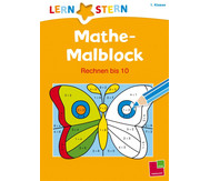 Lernstern - Mathe Malblock Rechnen bis 10