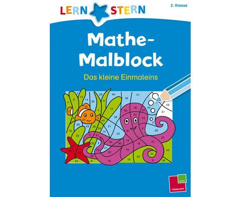 Lernstern Mathe-Malblock - Das kleine Einmaleins