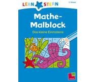 Lernstern - Mathe Malblock Das kleine Einmaleins