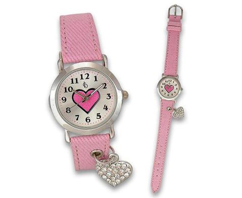 Kinder-Armbanduhr Herz-2