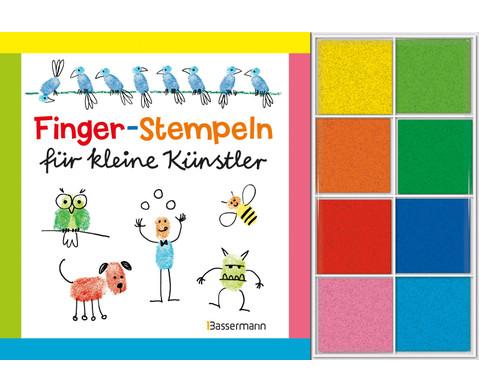 Fingerstempeln fuer kleine Kuenstler - Set-1
