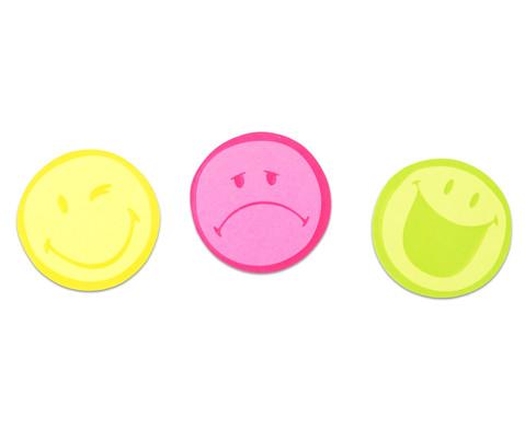 Haftnotizblock Smiley 3er-Set-1