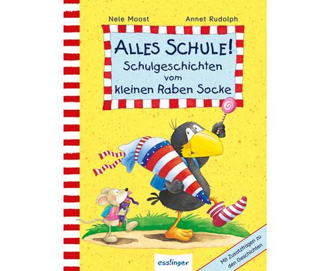 Alles Schule Schulgeschichten vom kleinen Rabe Socke-1