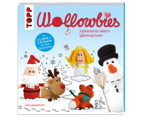 Wollowbies-Haekelminis feiern Weihnachten-1
