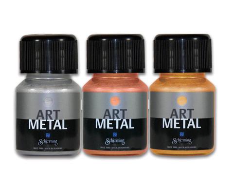 Schjerning Metallic-Farben 3er-Set