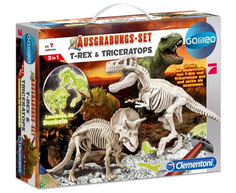 Dino Ausgrabungs-Set 2 Saurier