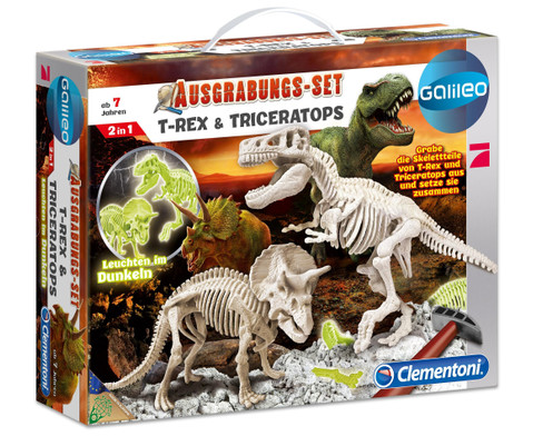Galileo Dino-Ausgrabungs-Set 2 Saurier