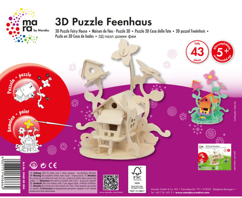 3D Puzzle Feenhaus-2