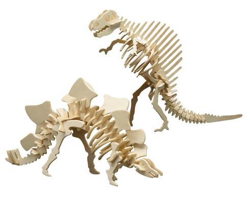 Dino Bausatz Ouranosaurus  Stegosaurus-1