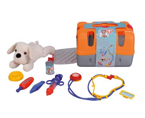 Tierarztkoffer mit Hund-1
