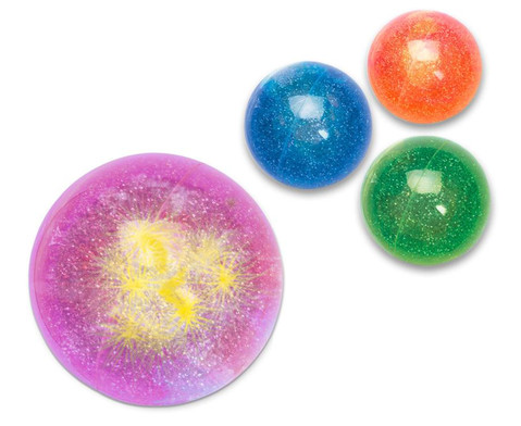Glitter-Flummi mit LED-1