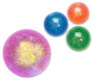 Glitter-Flummi mit LED
