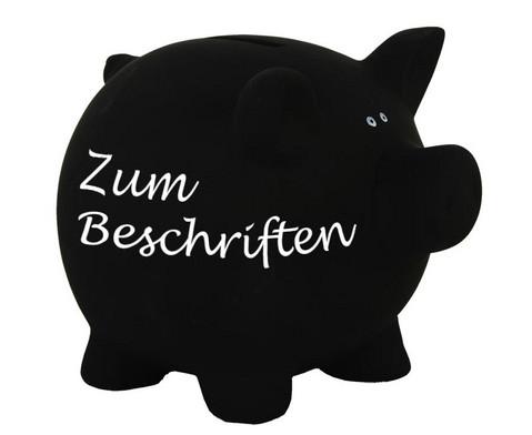 Sparschwein aus Keramik zum Beschriften-1