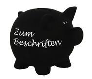 Sparschwein aus Keramik zum Beschriften
