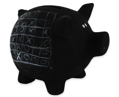Sparschwein aus Keramik zum Beschriften-2