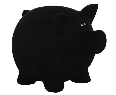 Sparschwein aus Keramik zum Beschriften-3