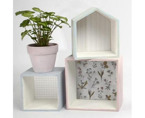 Holzbox Quadrat 3er Set-2