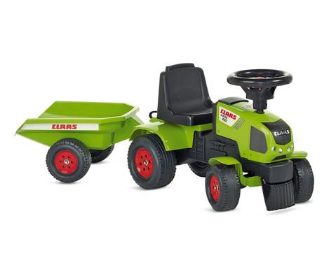 Claas Traktorrutscher mit Anhaenger-1