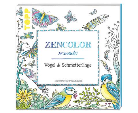 Zencolor - Voegel und Schmetterlinge-1