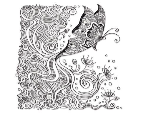Zencolor - Voegel und Schmetterlinge-3