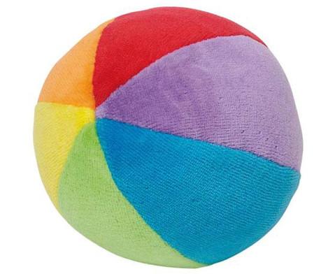 Stoffball mit Gloeckchen-1