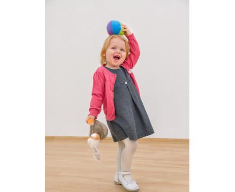 Stoffball mit Gloeckchen-2