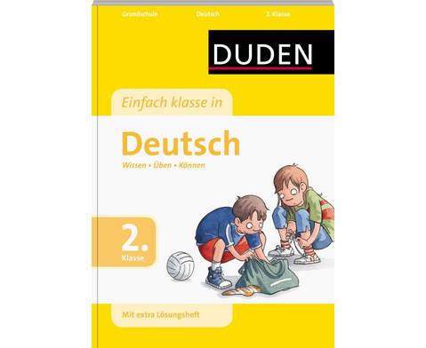 DUDEN Einfach Klasse in Deutsch 2-1