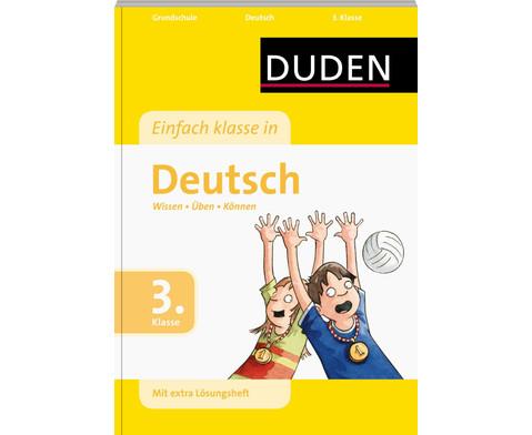 DUDEN Einfach Klasse in Deutsch 3-1