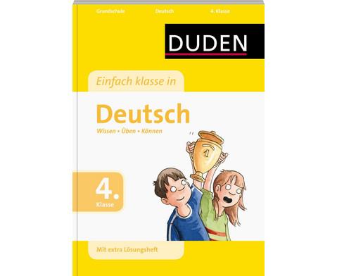 DUDEN Einfach Klasse in Deutsch 4-1