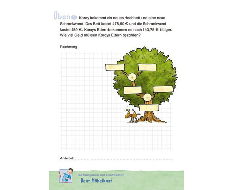 Duden Mathematik UEbungsblock - Textaufgaben 4 Klasse-3