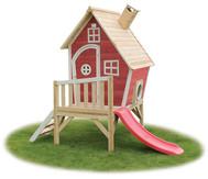 Spielhaus Fantasie mit Stelzen