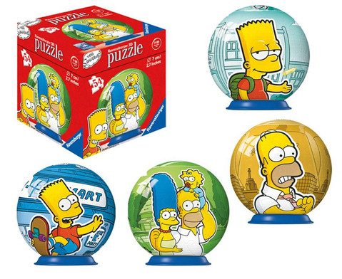 Simpsons Puzzleball-1