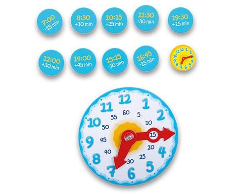 Lernpuzzle Die Uhr-2