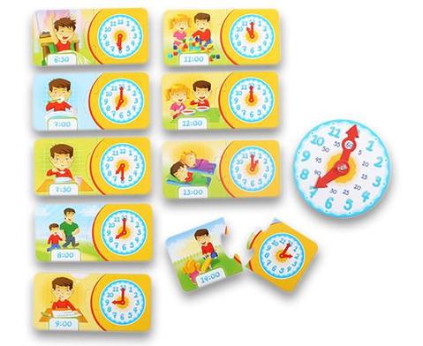 Lernpuzzle Die Uhr-3