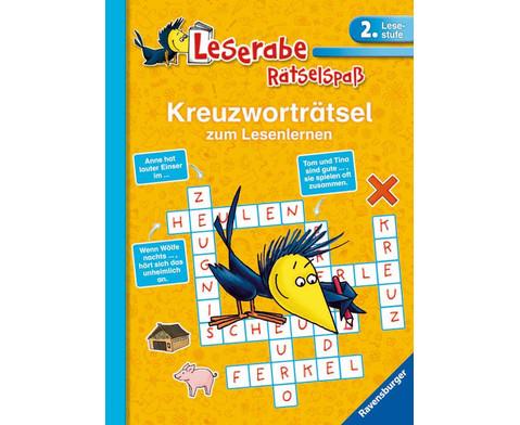 Leserabe Kreuzwortraetselspass 2 Lesestufe-1