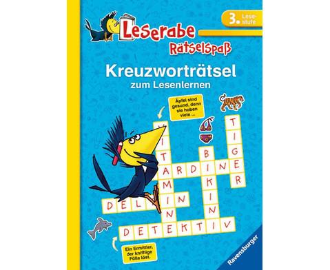 Leserabe Kreuzwortraetselspass 3 Lesestufe-1