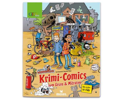 GEOlino Krimi-Comics Redaktion Wadenbeisser Band 1-1