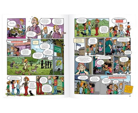 GEOlino Krimi-Comics Redaktion Wadenbeisser Band 1-3