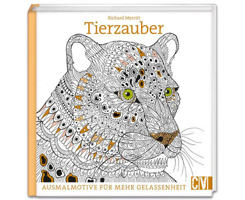 Kreativ- Malbuch Tierzauber-1