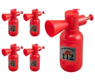 Wasserspritze Feuerlöscher, 5er-Set