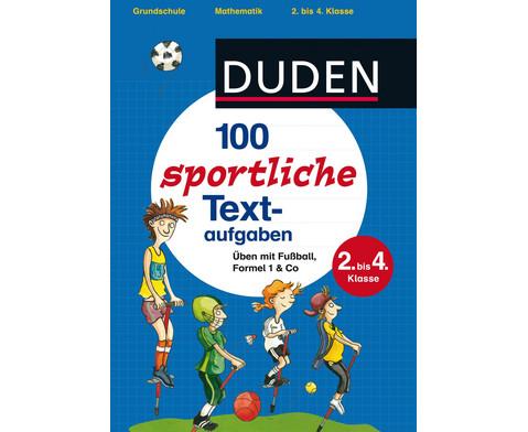 100 sportliche Textaufgaben 2 bis 4 Klasse-1