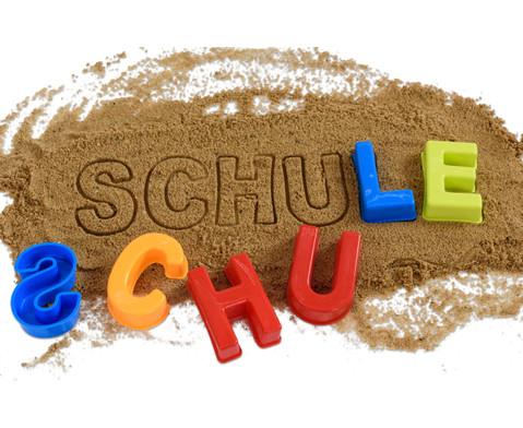 Sandformen Buchstaben A-Z 26 Stueck