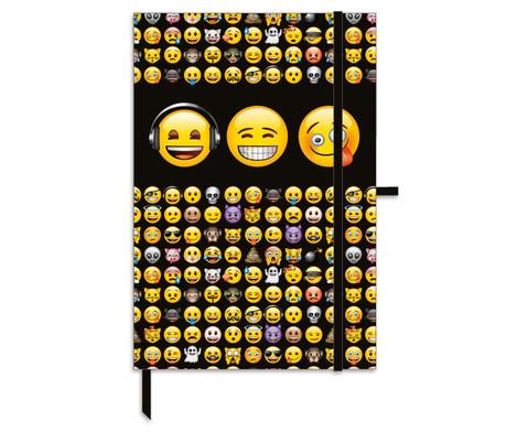 Notizbuch emoji A5-1