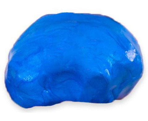 i-Clay Knete metallic blau-5