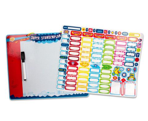 Magnetischer Stundenplan Schulhelden-1