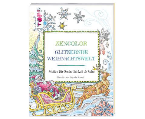 Zencolor Glitzernde Weihnachtswelt-1