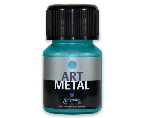 Metallic Farben 3er-Set - tuerkis rot blau-3