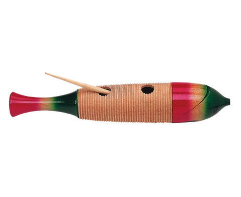 Betzold Musik Riesen-Holzguiro Fischform